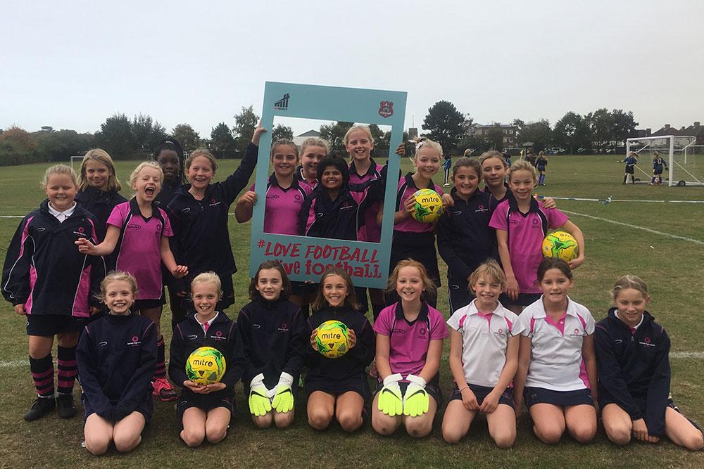 Ipswich High School Prep School football team