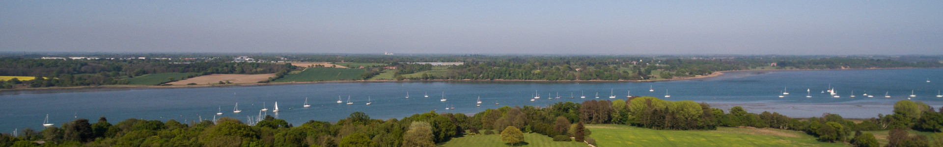 The River Orwell, overlooked by Ipswich High School's 84-acre campus