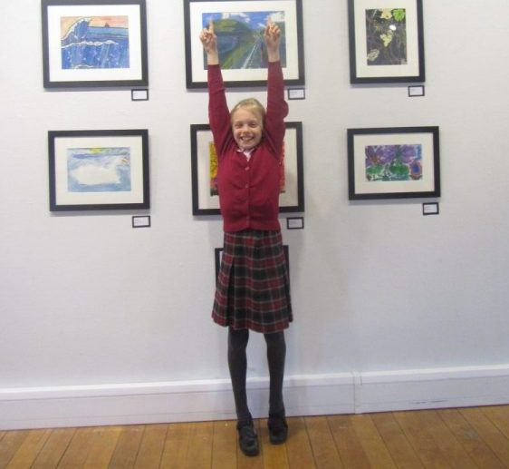 Ipswich High School Prep School pupil wins first prize at Art Exhibition