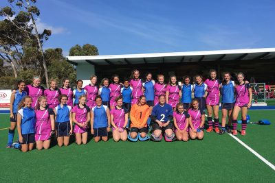 Ipswich High School pupils on the 2017 Netball and Hockey tour of South Africa