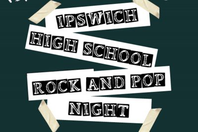 Ipswich High School Rock and Pop Night logo