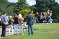 Ipswich High School pupils celebrate receiving their GCSE results