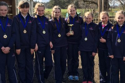 The Ipswich High School netball team that achieved victory at the Condover Hall tournament