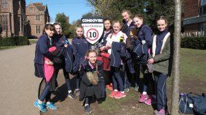 Ipswich High School netball team visit Condover Hall
