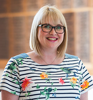 Ipswich High School's Head of EYFS, Ruth Hatcher