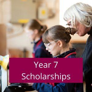 Year 7 Scholarships